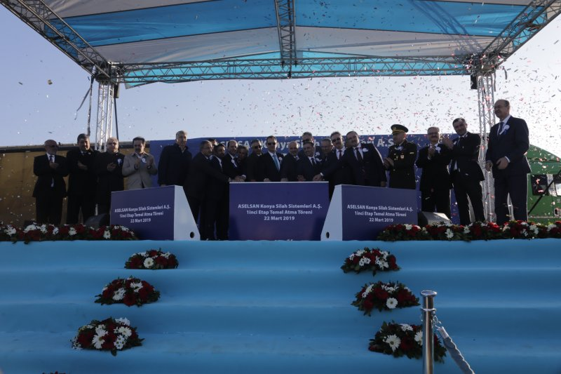 The Groundbreaking Ceremony of Aselsan Konya Weapon Systems Inc.