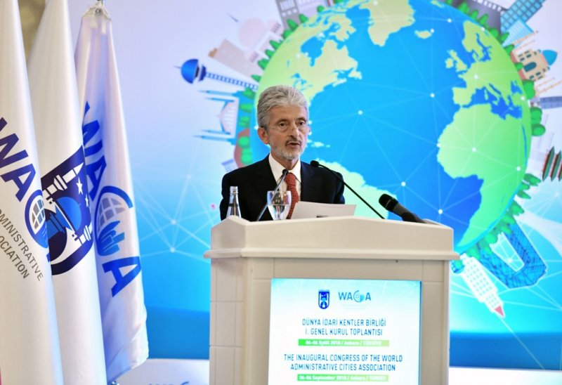 INAUGURAL CONGRESS OF THE WORLD ADMINISTRATIVE CITIES ASSOCIATION